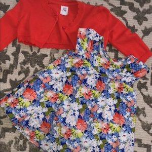 Baby Gap Dress & Sweater Set